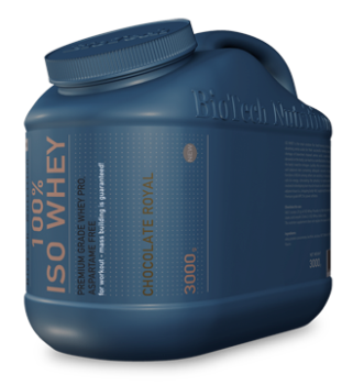 100% Iso Whey (3 kg.)