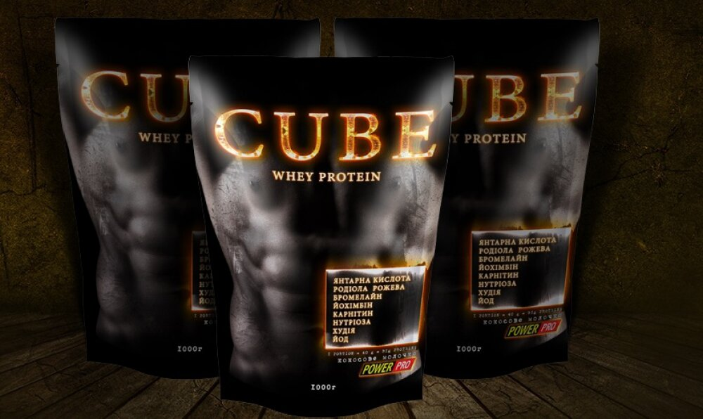 Whey Protein Cube Power Pro